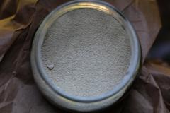 nutritional yeast in a jar