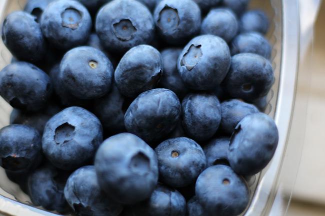 Blueberries, fresh