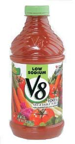 low sodium v8 vegetable juice