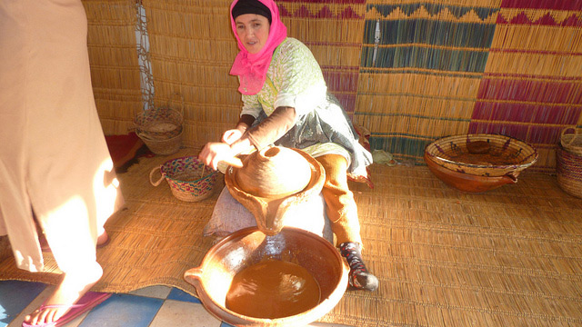 processing argan oil