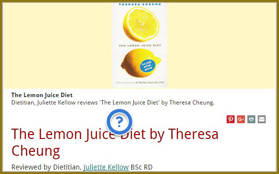 lemon-juice-diet