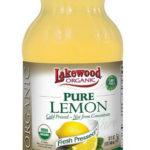 Choosing the Best Organic Lemon Juice: The LakeWood Brand